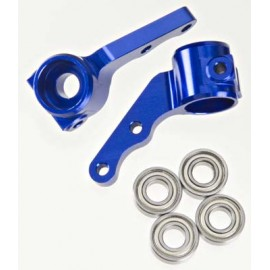 Integy Steering Block II Blue Slash/Stmpede/Rstlr/Bndit