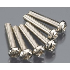 Traxxas Round Head Screw 3x15mm (6)