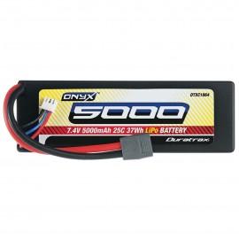 Duratrax Onyx LiPo 2S 7.4V 5000mAh 25C Hard Case Star