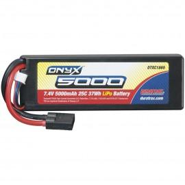 Duratrax Onyx LiPo 2S 7.4V 5000mAh 25C Hard Case TRA