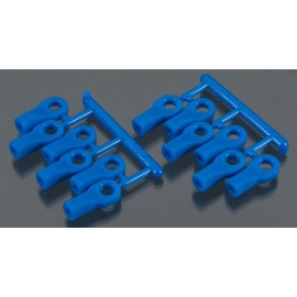 RPM Rod Ends Short Blue 1/10 Traxxas