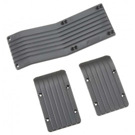 RPM Skid Plate Set T/E-Maxx Black (3)