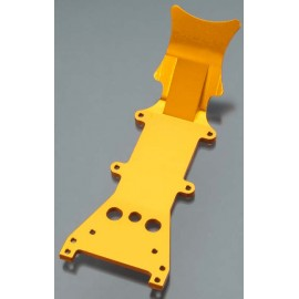 Integy Billet Mach Aluminum Fr Skid Plate Org T/E-Maxx