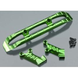 Integy Aluminum Front Bumper Green T/E-Maxx