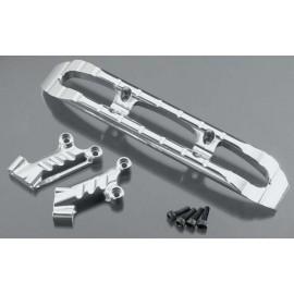 Integy Aluminum Front Bumper Silver T/E-Maxx
