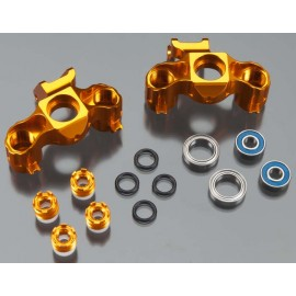 Integy Billet Machined Steering Block Orange T/E-Maxx
