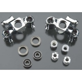 Integy Billet Machined Steering Block Silver T/E-Maxx