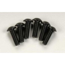 Traxxas Button Head Machine Screw 4x12mm Revo (6)