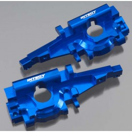 Integy Billet Machined Rear Bulkhead Blue E-Revo/3.3