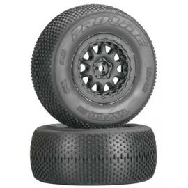 "Pro-Line Tazer SC 2.2""/3.0"" M4 Tires Mounted ProTrack"
