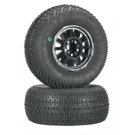 JConcepts Goose Bumps Slash/4X4/Blitz Tire/Wheel Grn (2