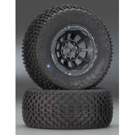 JConcepts Choppers Slash R/4x4 Fr Black Hazard 12mm Whl