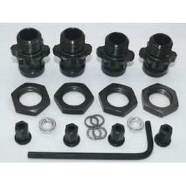 AKA Racing 1/8 Wheel Adapters Complete Kit Slash (4)