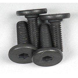 Traxxas Flat Head Hex Engine Mount Screws 3x10mm (4)
