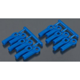 RPM Rod Ends Long Blue 1/10 Traxxas Nitro Slash