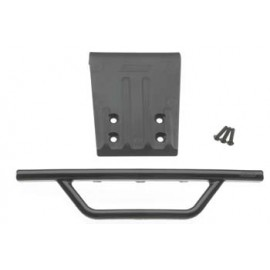 RPM Front Bumper & Skid Plate Black Nitro Slash
