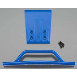 RPM Front Bumper/Skid Blue Nitro Slash