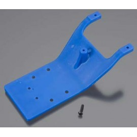 RPM Rear Skid Plate Blue Slash