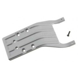 RPM Rear Skid Plate Gray Slash