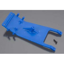 RPM Front Skid Plate Blue Slash