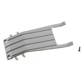 RPM Front Skid Plate Gray Slash