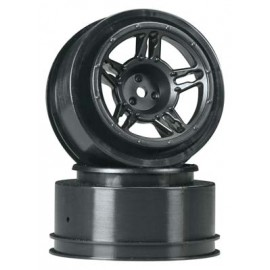 Duratrax SC Wheel Black Front Slash (2)