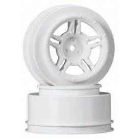 Duratrax SC Wheel White Rear Slash Blitz SCRT10 (2)