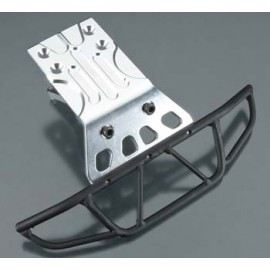 Integy Heavy Duty Front Bumper Silver Slash