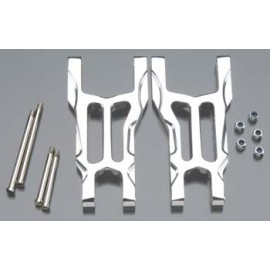 Integy 09 Rear Lower Arm Silver Traxxas Slash