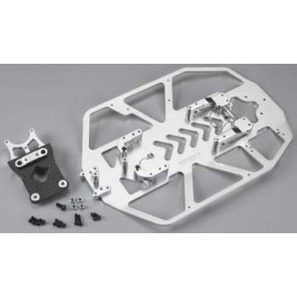 Integy Alloy Chassis Conversion Set Silver Slash