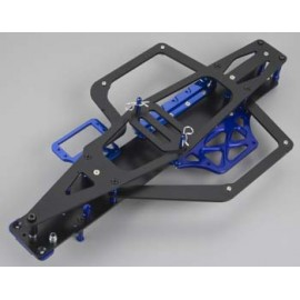 Integy EVO-X Chassis Conversion Kit Blue Slash