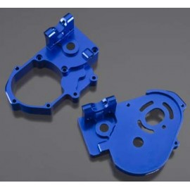 Integy Alloy Heavy Duty Gearbox Blue Slash